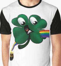 Shamrock's Bad Day Graphic T-Shirt