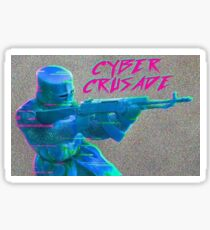 Cyber Crusade Sticker