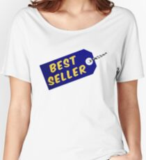 Best Seller Label With String Women's Relaxed Fit T-Shirt
