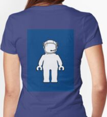 Banksy Style Astronaut Minifig, Customize My Minifig T-Shirt