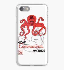 ANTI COMMUNIST PROPAGANDA  iPhone Case/Skin