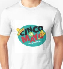 Cinco De Mayo festive icon design. Unisex T-Shirt