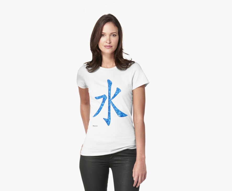 Water in Chinese  by Detnecs