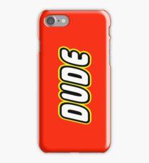 DUDE, Customize My Minifig iPhone Case/Skin