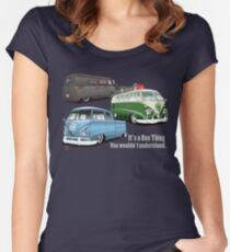 IT'S A BUS THING Women's Fitted Scoop T-Shirt