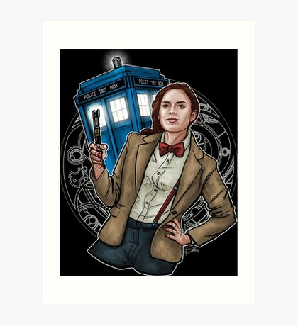 Doctor Carter Art Print