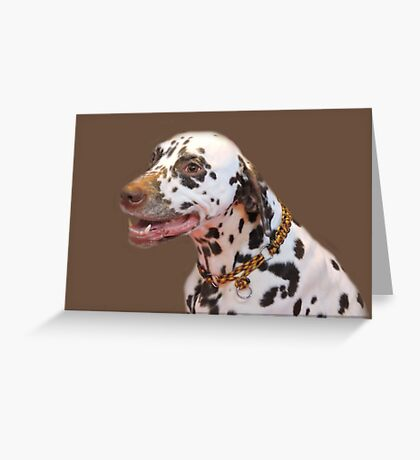 Lovely Liver Spotted Greeting Card