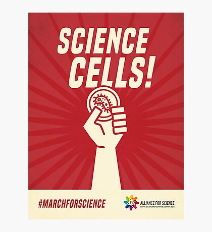 Alliance for Science - Science Cells Photographic Print