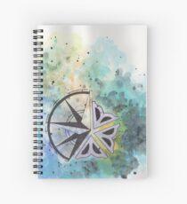 Rochester Flower 2 Spiral Notebook