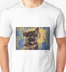Drigon - German Shepherd Puppy Unisex T-Shirt