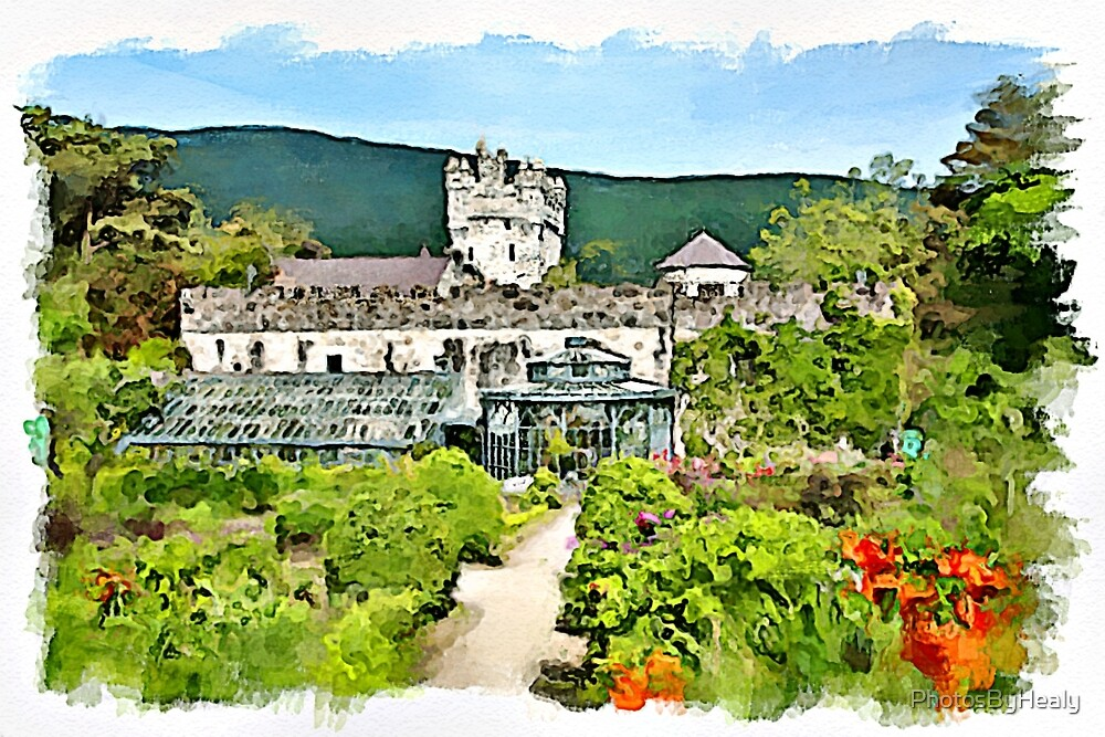 The Gardens watercolour by PhotosByHealy