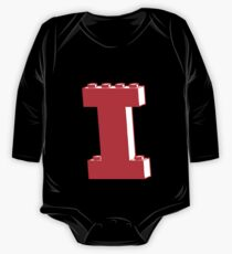 THE LETTER I, Customize My Minifig One Piece - Long Sleeve