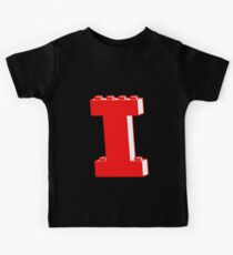 THE LETTER I, Customize My Minifig Kids Tee