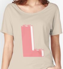 THE LETTER L, Customize My Minifig Women's Relaxed Fit T-Shirt
