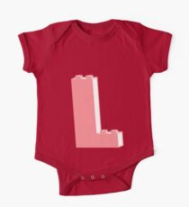 THE LETTER L, Customize My Minifig Kids Clothes