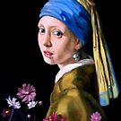 study after Vermeer by Hidemi Tada