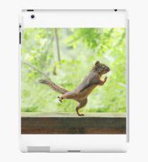 Squirrel Yoga iPad Case/Skin