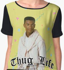 Thug Life Women's Chiffon Top