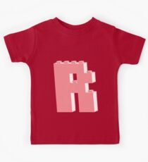THE LETTER R, Customize My Minifig Kids Clothes