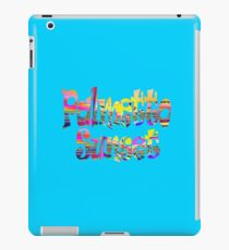 Palmetto sunset sticker and more iPad Case/Skin
