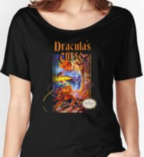 Castlevania - Dracula's Curse NES Women's Relaxed Fit T-Shirt