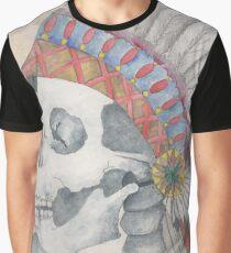 Native Skull Graphic T-Shirt