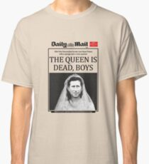 The Smiths - The Queen Is Dead (Newspaper-Style) Classic T-Shirt