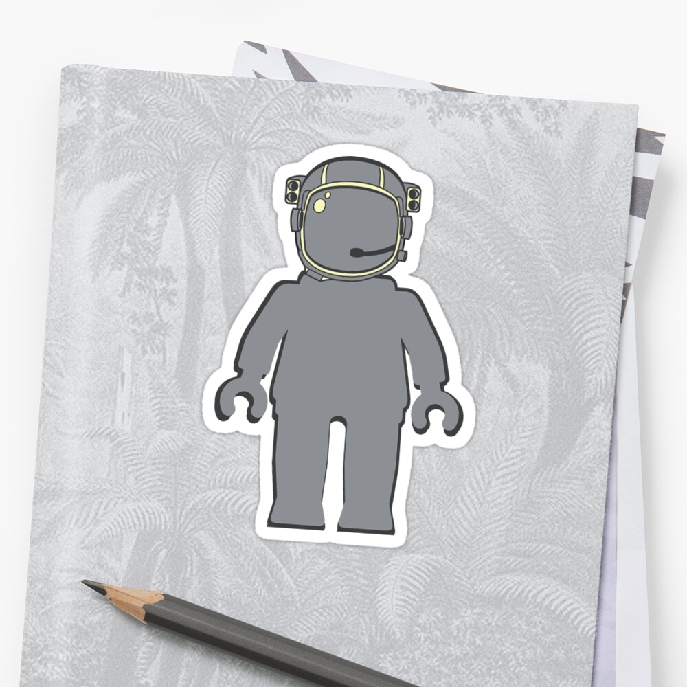 Banksy Style Astronaut Minifig by Customize My Minifig