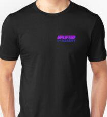 Uplifted retrowave man Unisex T-Shirt