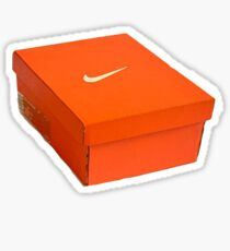 Nikey Box Sticker