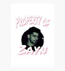 Property of ZM Photographic Print