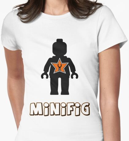Minifig [Black], Customize My Minifig Star Logo T-Shirt