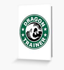 Deadly nadder trainer Greeting Card