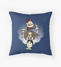 The Marvelous Mind of Miyamoto Throw Pillow