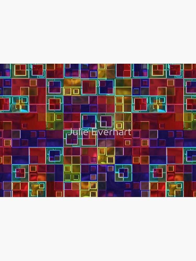 Shiny Futuristic  Squares by julev69