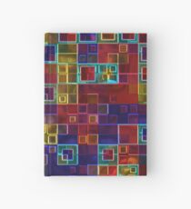 Shiny Futuristic  Squares Hardcover Journal