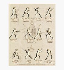"Longsword Positions - Fiore dei Liberi ""Getty"" Photographic Print"