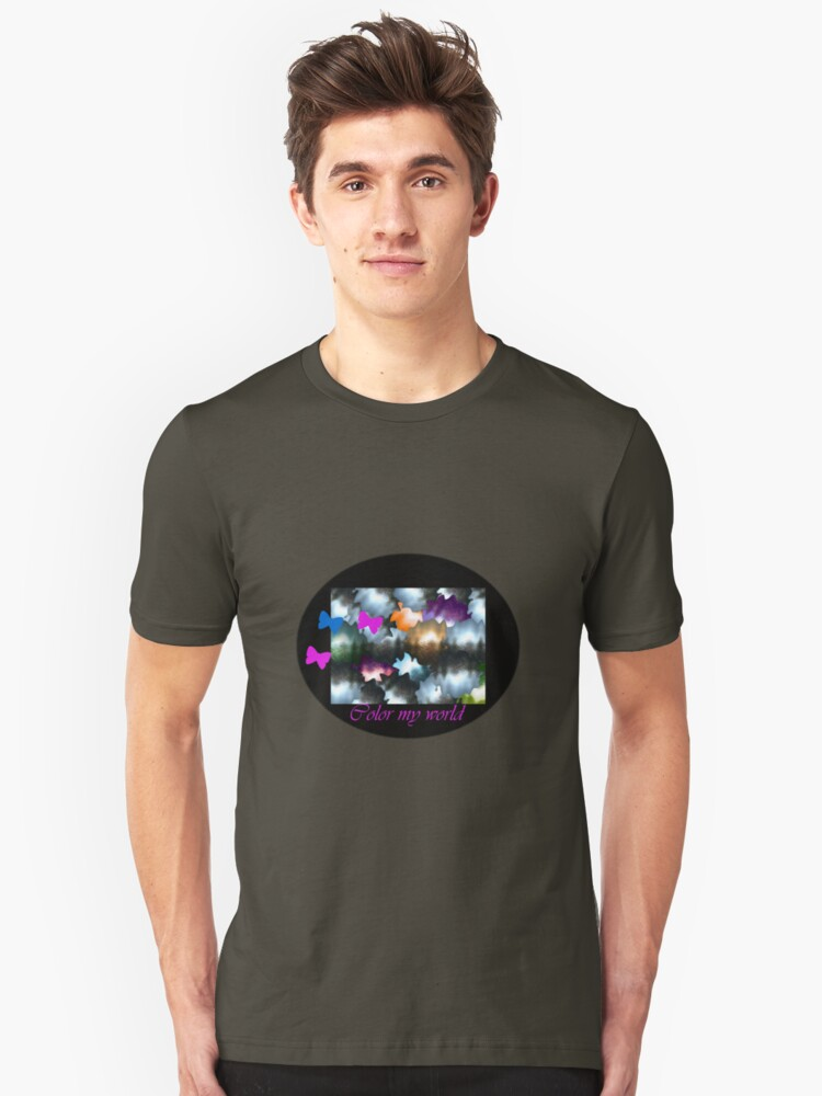 Color my World Unisex T-Shirt Front