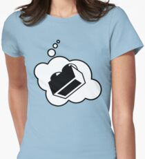 2x1 Brick, Bubble-Tees.com Womens Fitted T-Shirt