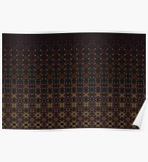 Tiered Pattern by Julie Everhart Poster