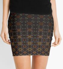 Tiered Pattern by Julie Everhart Mini Skirt