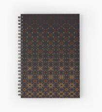 Tiered Pattern by Julie Everhart Spiral Notebook