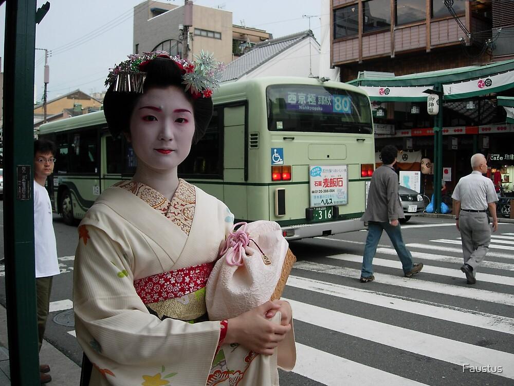 Kyoto Geisha by Faustus