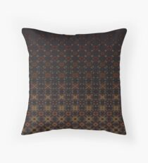 Tiered Pattern by Julie Everhart Throw Pillow