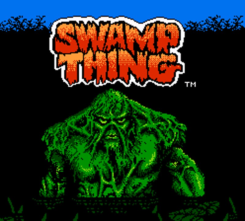 Swamp thing nes by matthew2abreu