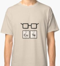 Cute chemical Element Nerd Glasses Rwp34 Classic T-Shirt