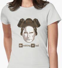 """Breaking Vlad"" - Vladimir Putin Cooking Crystal Women's Fitted T-Shirt"