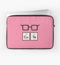 Cute chemical Element Nerd Glasses Rwp34 Laptop Sleeve