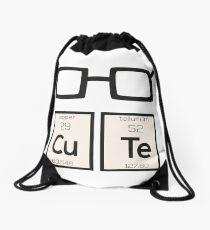 Cute chemical Element Nerd Glasses Rwp34 Drawstring Bag
