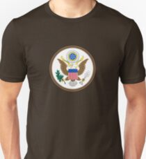 Great Seal of the United States of America - USA Emblem Coat of Arms Sticker Duvet T-Shirt Unisex T-Shirt